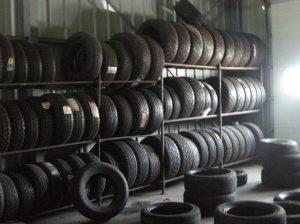 Garage à pneus